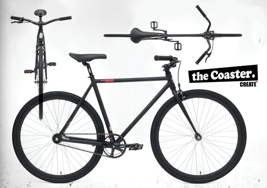 Create Bikes - The Coaster semi-fixie -