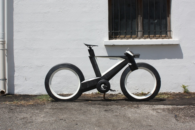 CYCLOTRON: revolutionaire fiets zonder spaken