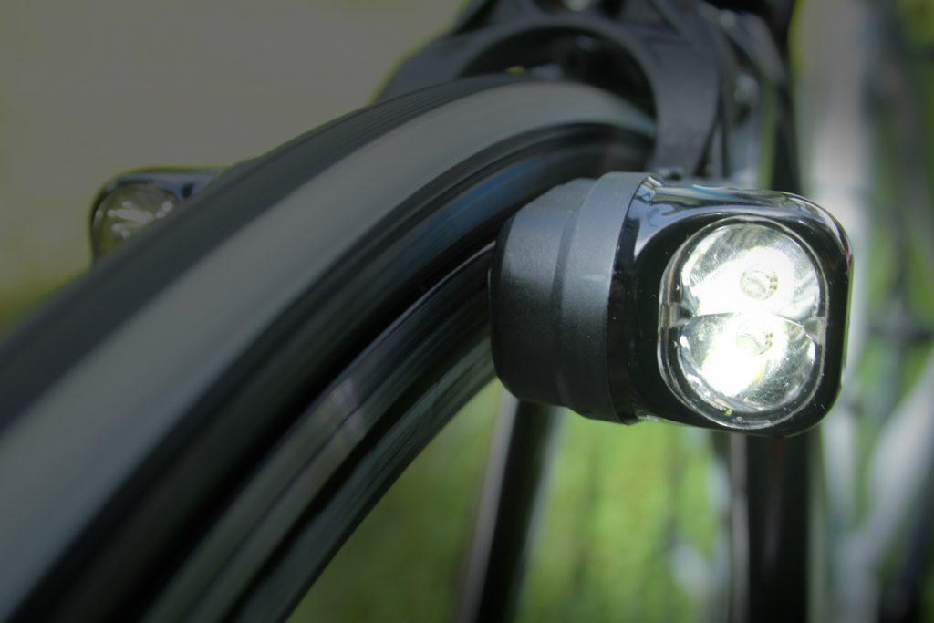Magnic fietslamp met inductie