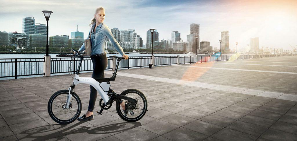 DESIGN elektrische fiets 20 inch