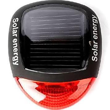 SOLAR FIETSLAMP fietsverlichting zonnepaneel