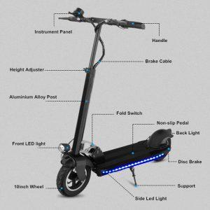elektrische vouwbare step