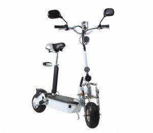beste elektrische step scooter Batteride